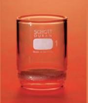 Cadinho filtrante (gooch) com placa porosa,SCHOTT